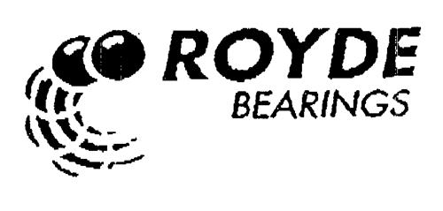 ROYDE BEARINGS
