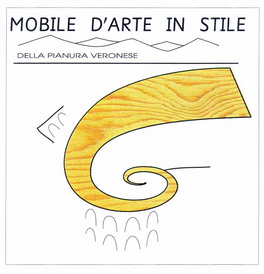 MOBILE D'ARTE IN STILE DELLA PIANURA VERONESE