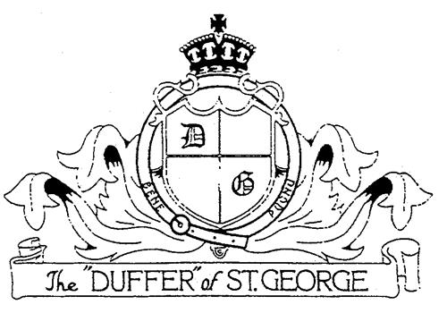 "The ""DUFFER""of ST.GEORGE"