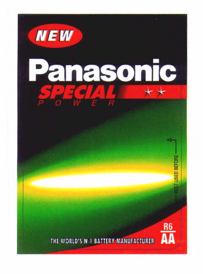 NEW Panasonic Special Power AA