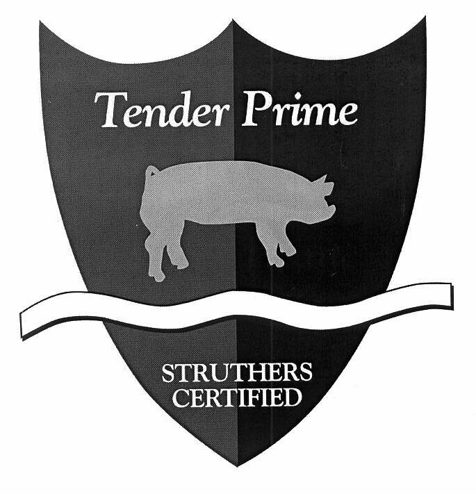 Tender Prime STRUTHERS CERTIFIED