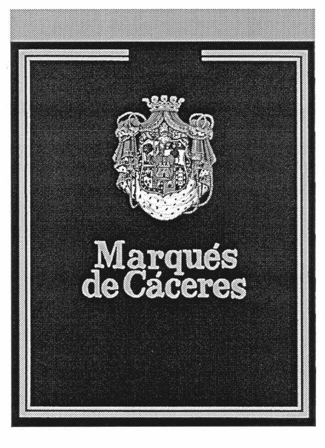 Marqués de Cáceres