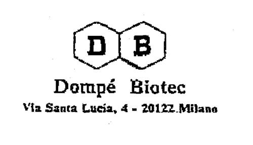 DB Dompé Biotec Via Santa Lucia, 4-20122 Milano - Reviews ...