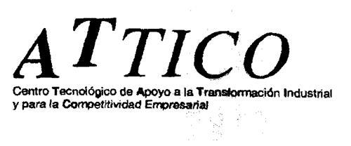 ATTICO Centro Tecnológico de Apoyo a la Transformación Industrial y para la Competitividad Empresarial