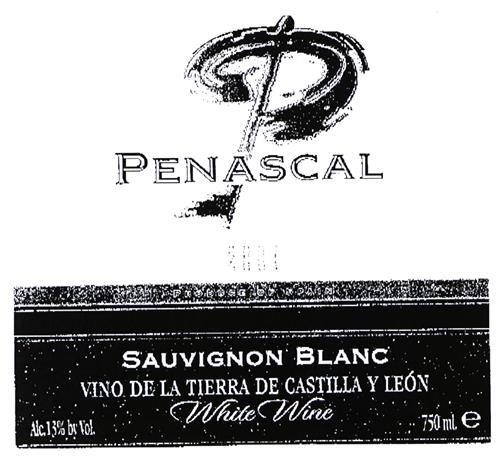 PEÑASCAL SAUVIGNON BLANC VINO DE LA TIERRA DE CASTILLA Y LEÓN White Wine