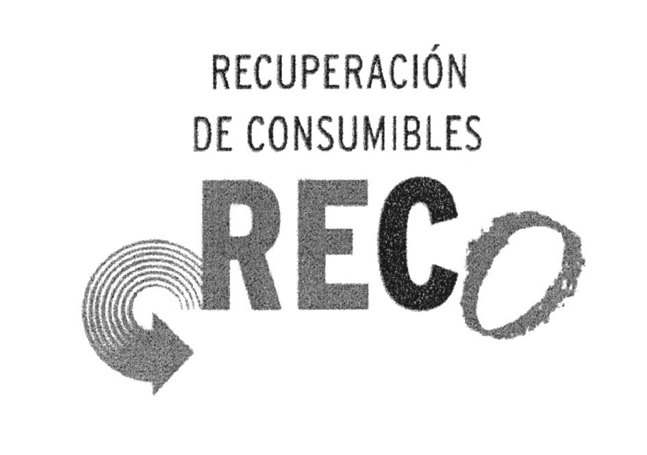 RECUPERACIÓN DE CONSUMIBLES RECO