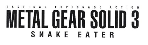 TACTICAL ESPIONAGE ACTION METAL GEAR SOLID 3 SNAKE EATER