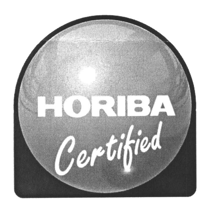 HORIBA Certified
