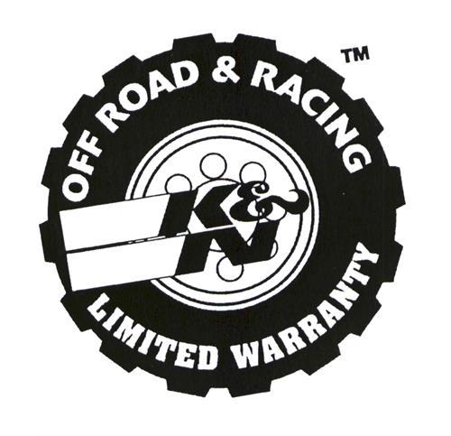 OFF ROAD & RACING K&N LIMITED WARRANTY