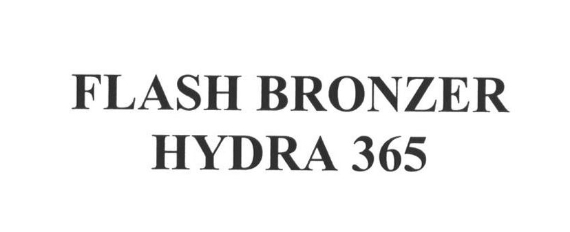 FLASH BRONZER HYDRA 365
