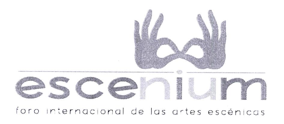 escenium foro internacional de las artes escénicas