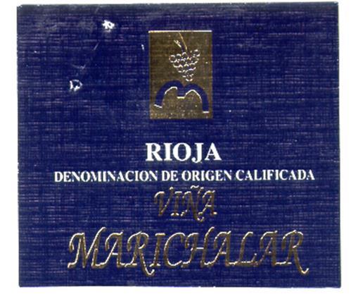 RIOJA DENOMINACION DE ORIGEN CALIFICADA VIÑA MARICHALAR