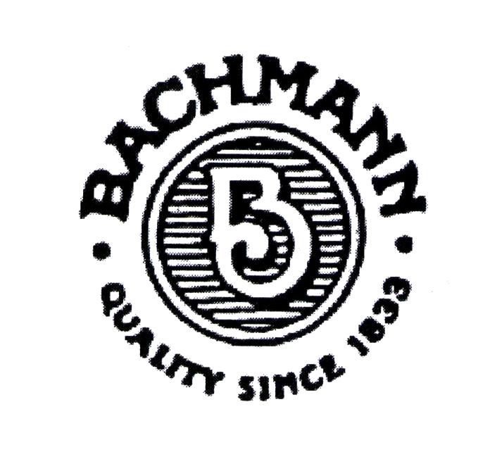 BACHMANN QUALITY SINCE 1833