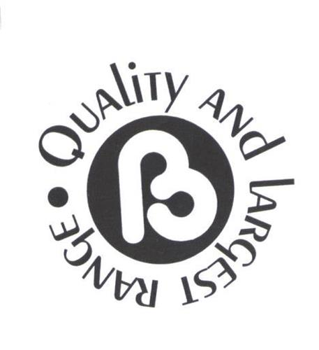 B QUALITY AND LARGEST RANGE