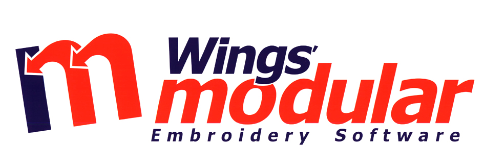 m Wings' modular Embroidery Software