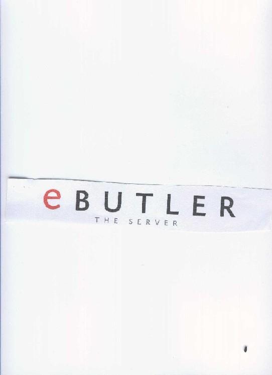 eBUTLER THE SERVER