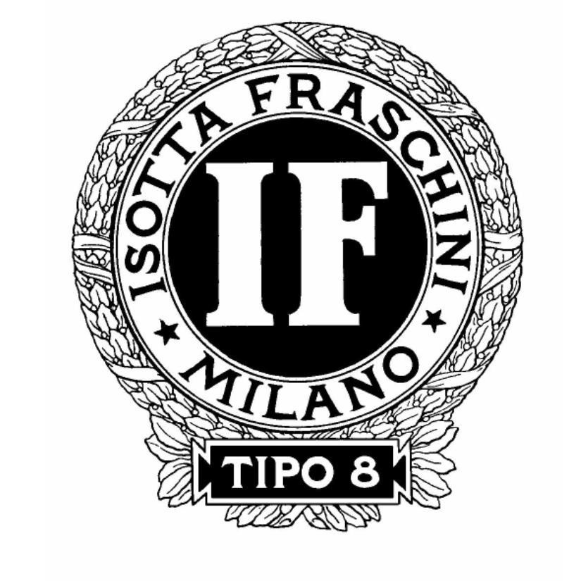 IF ISOTTA FRASCHINI MILANO TIPO 8