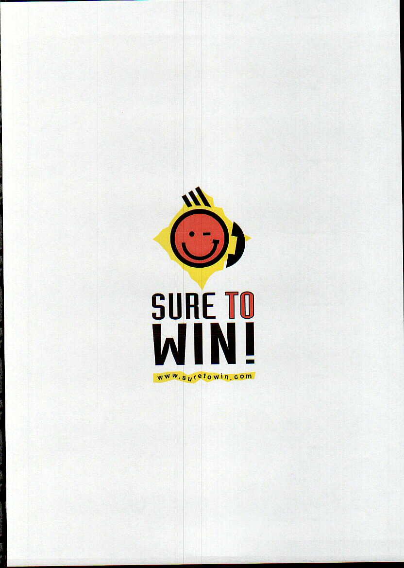 SURE TO WIN! www.suretowin.com