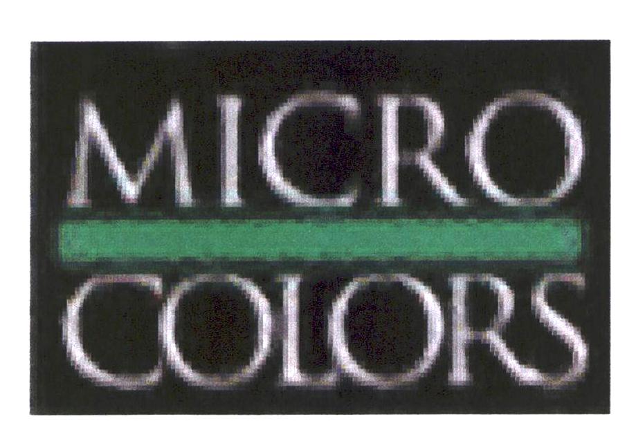 MICRO COLORS