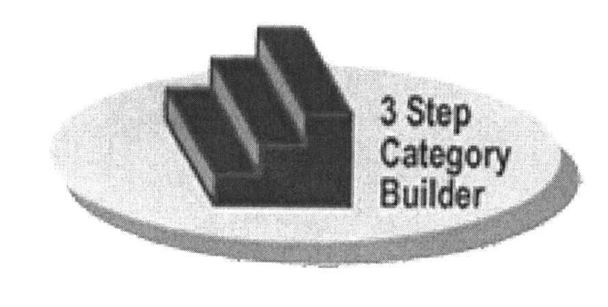 3 Step Category Builder