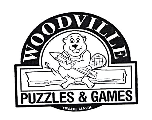 WOODVILLE PUZZLES & GAMES TRADE MARK