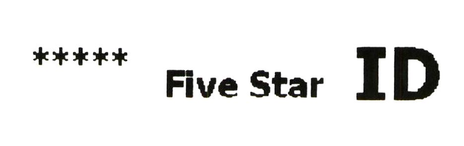 ***** Five Star ID