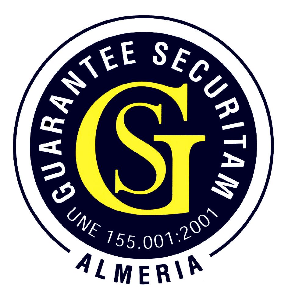 GS GUARANTEE SECURITAM UNE 155.001:2001 ALMERIA