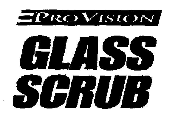PROVISION GLASS SCRUB