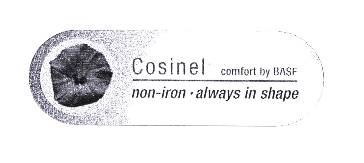 Cosinel comfort by BASF non-iron - always in shape