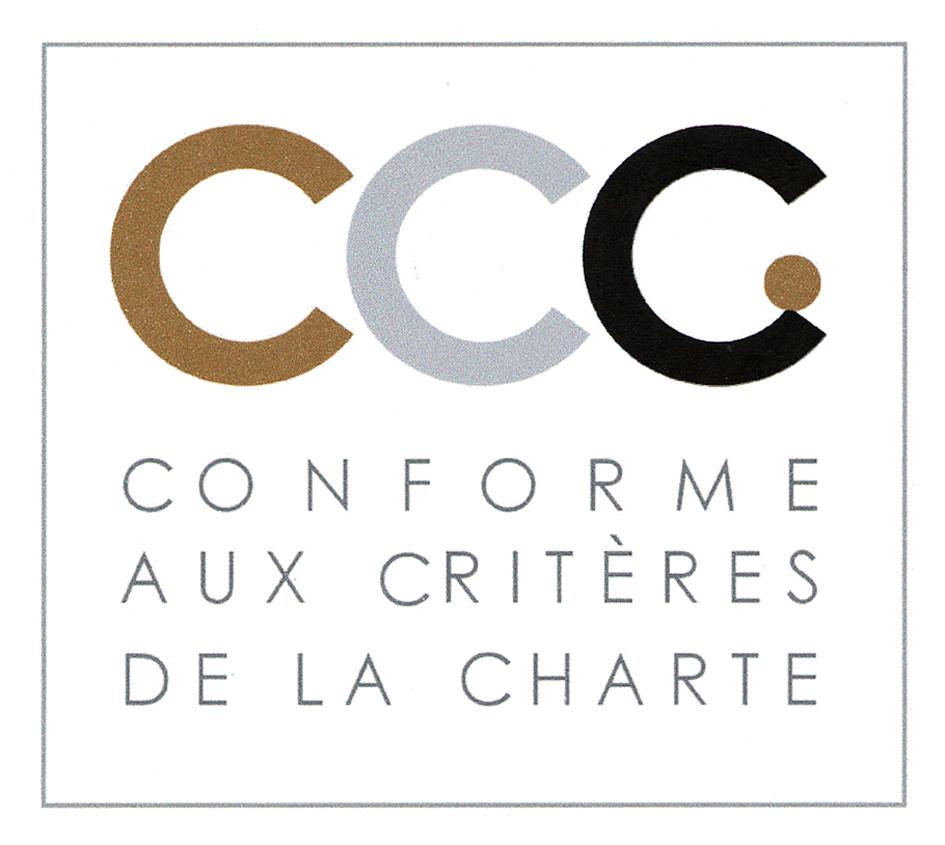 CCC CONFORME AUX CRITÈRES DE LA CHARTE