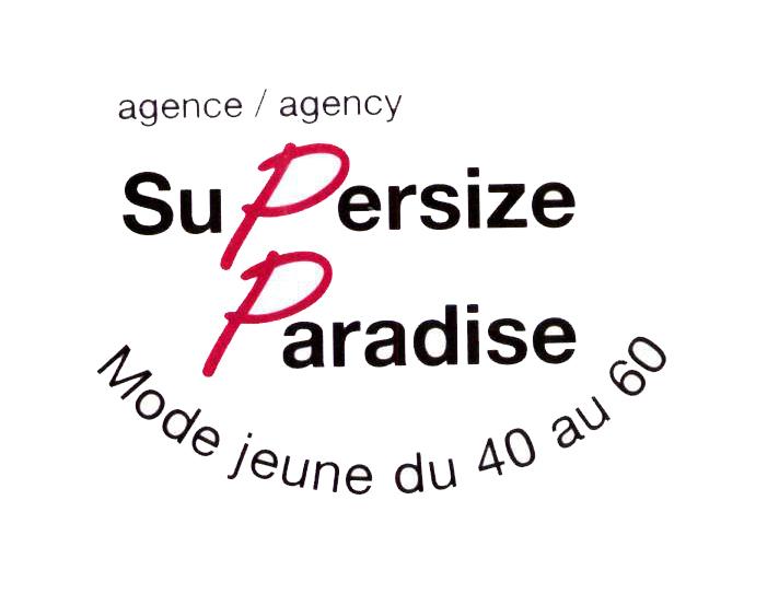 agence/agency SuPersize Paradise Mode jeune du 40 au 60