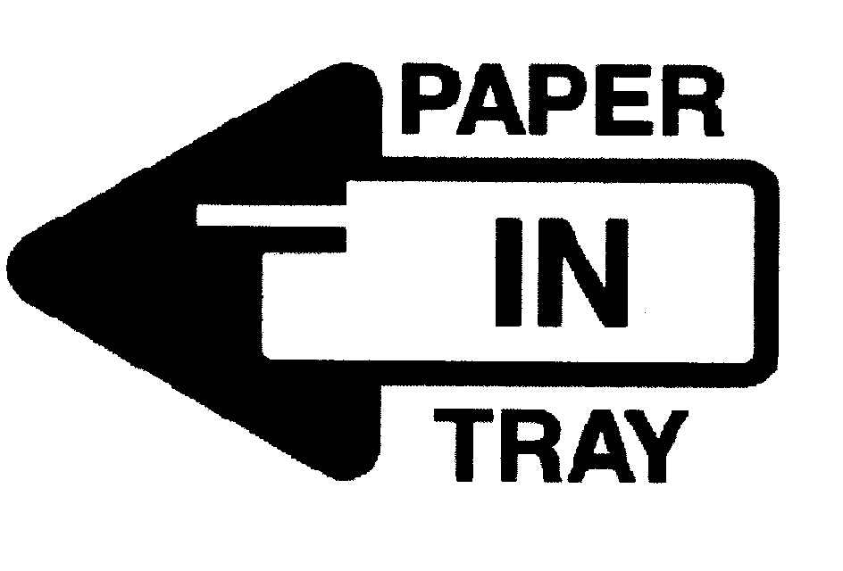 PAPER IN TRAY