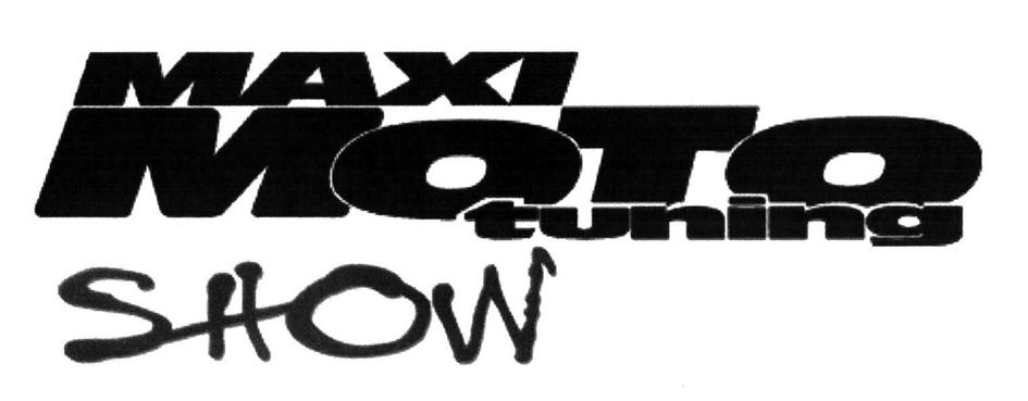 MAXI MOTO tuning SHOW