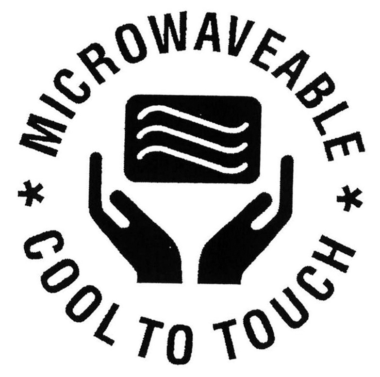 MICROWAVEABLE COOL TO TOUCH