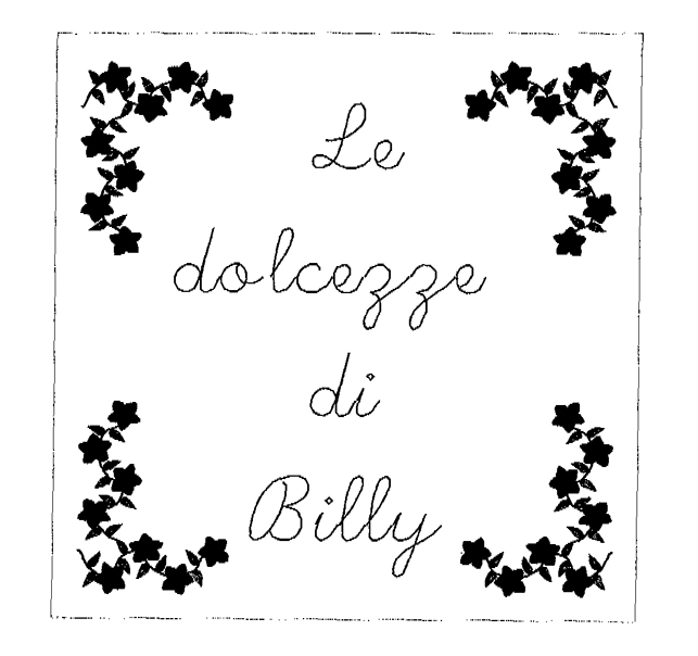 Le dolcezze di Billy