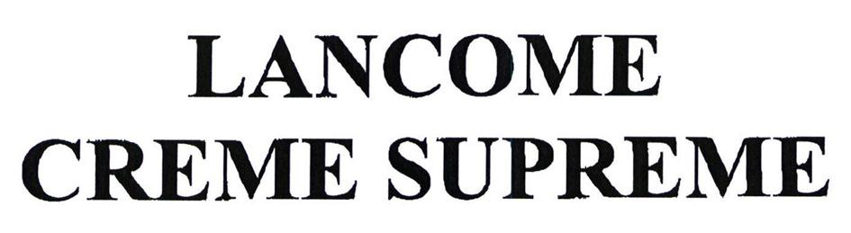 LANCOME CREME SUPREME