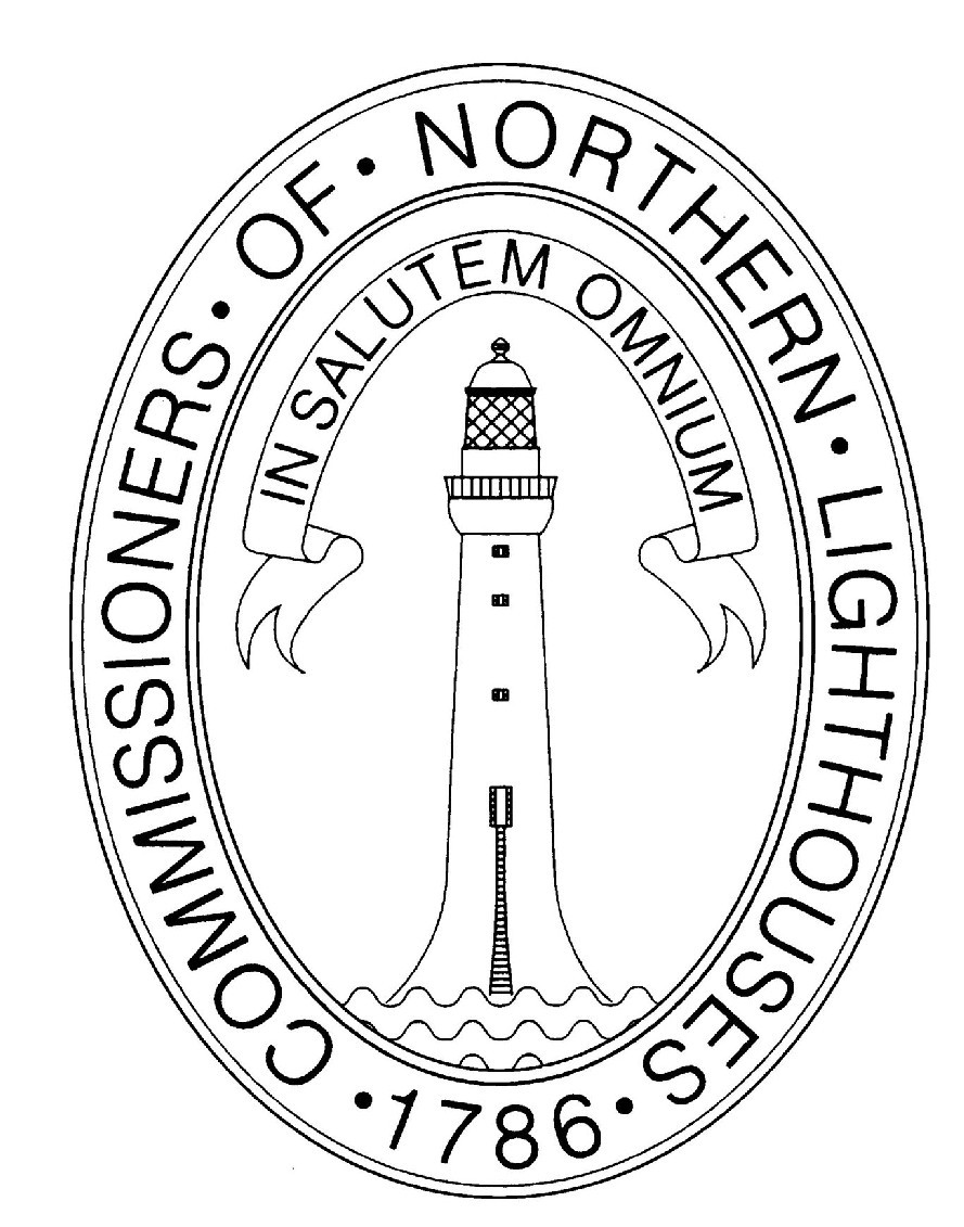 COMMISSIONERS · OF · NORTHERN · LIGHTHOUSES · 1786 · IN SALUTEM OMNIUM