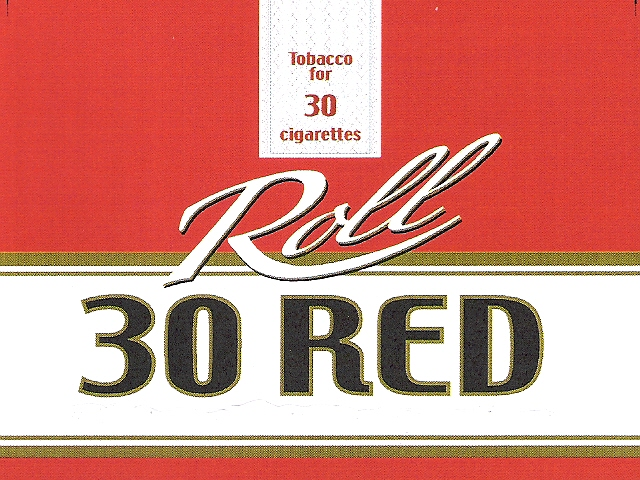 Tobacco for 30 cigarettes Roll 30 RED