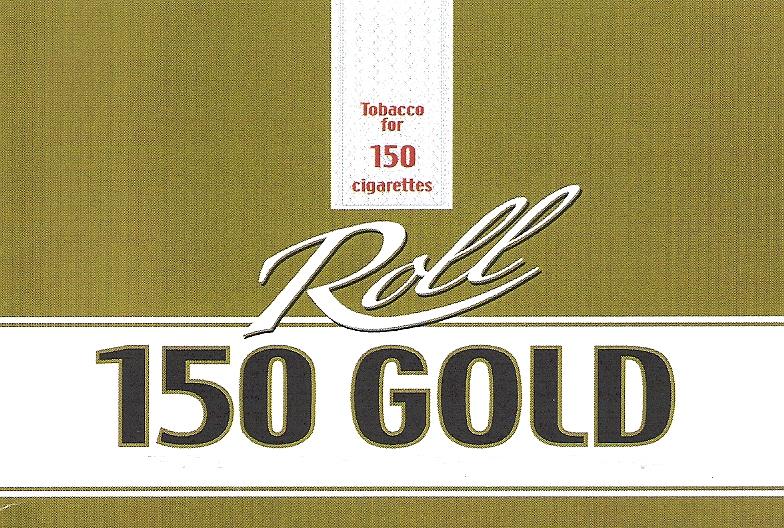 Tobacco for 150 cigarettes Roll 150 GOLD