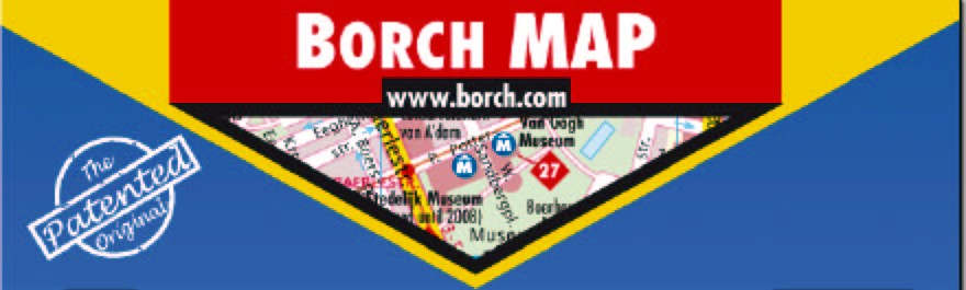 BORCH MAP www.borch.com The Patented Original