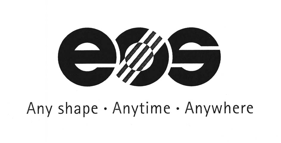 eos Any shape Anytime Anywhere