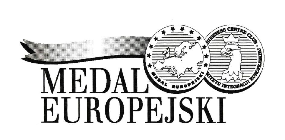 MEDAL EUROPEJSKI BUSINESS CENTRE CLUB MITETU INTEGRACJI EUROPEJSKIEJ