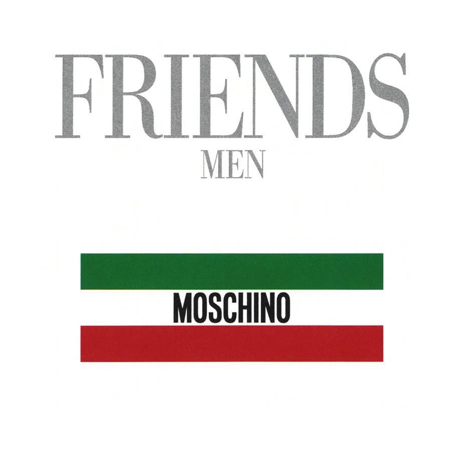 FRIENDS MEN MOSCHINO