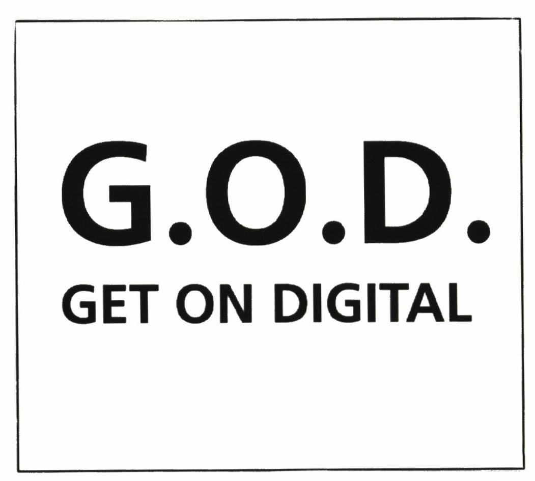 G.O.D. GET ON DIGITAL