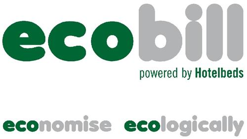 ecobill powered by Hotelbeds economise ecologically