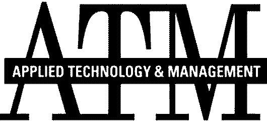 ATM APPLIED TECHNOLOGY & MANAGEMENT