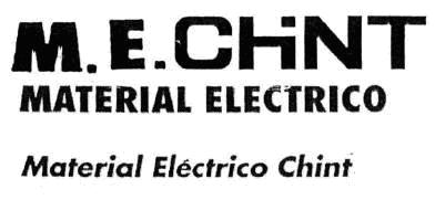M.E.CHINT MATERIAL ELECTRICO Material Electrico Chint