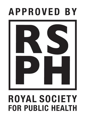 APPROVED BY RSPH ROYAL SOCIETY FOR PUBLIC HEALTH