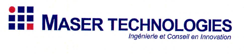 MASER TECHNOLOGIES Ingenierie et Conseil en Innovation