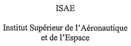 ISAE Institut Supérieur de l'Aéronautique et de l'Espace